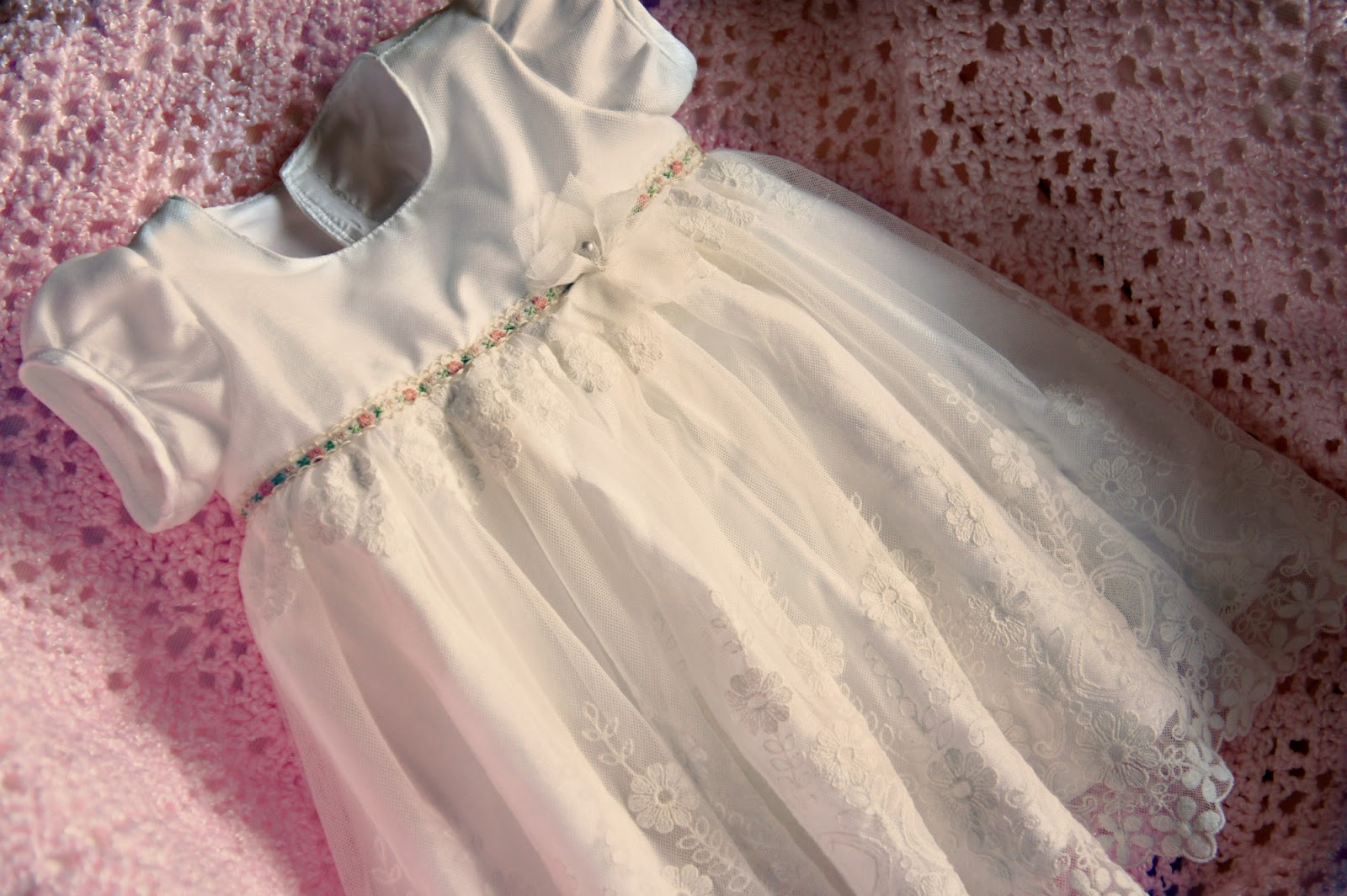 A Vintage Inspired Baby Blessing Dress