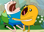 Adventure Time Jugle