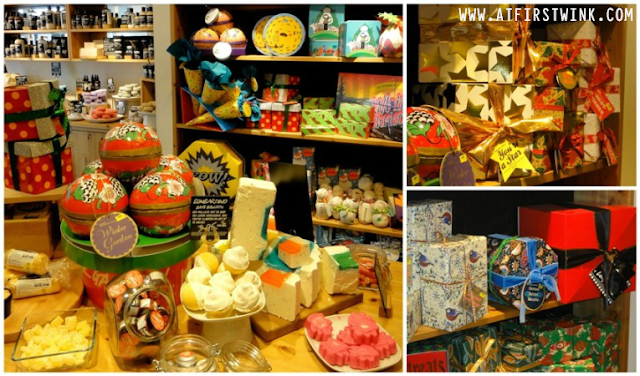 Lush Winter 2013 collection in store