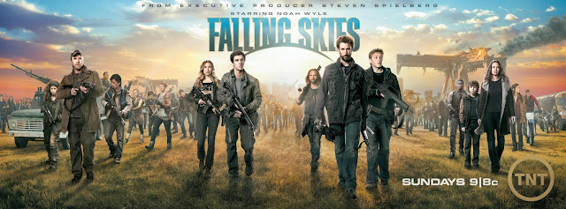 Falling Skies Season 2 Banner - Season 2 Cast Photo