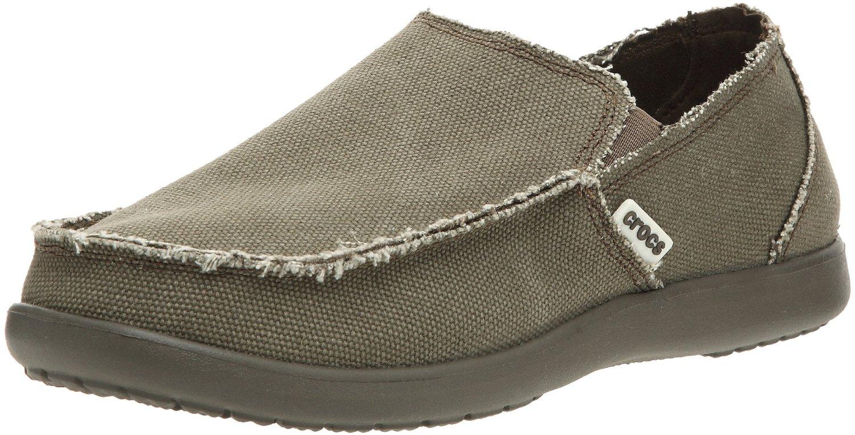 new crocs santa canvas slip on shoes size 12 ebay