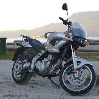 BMW F650CS motorcycle