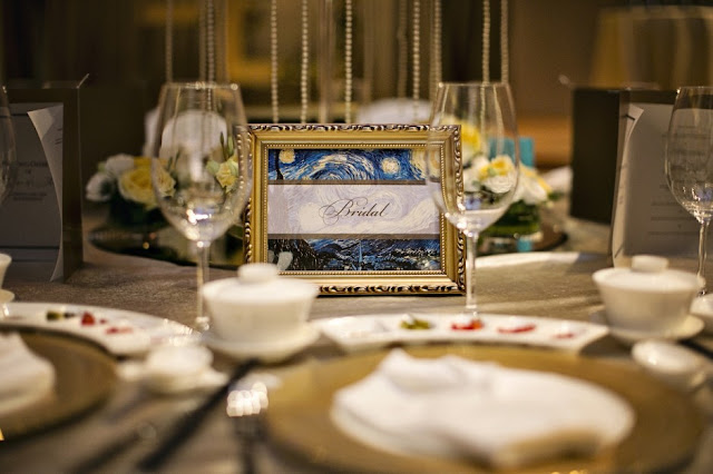 Starry Starry Night Themed Wedding at Capella Singapore Photos