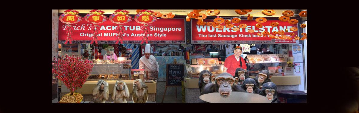 Erich's Wuerstelstand, Chinatown, Singapore