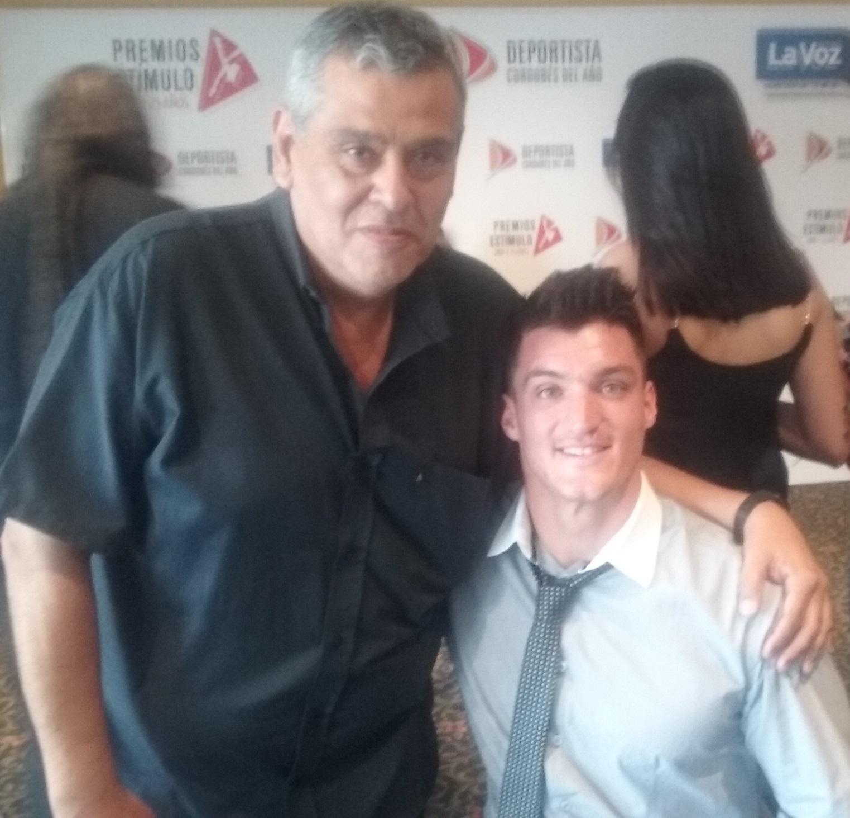 Con Gustavo Fernández