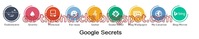 Amazing Google Secrets, Tips and Tricks
