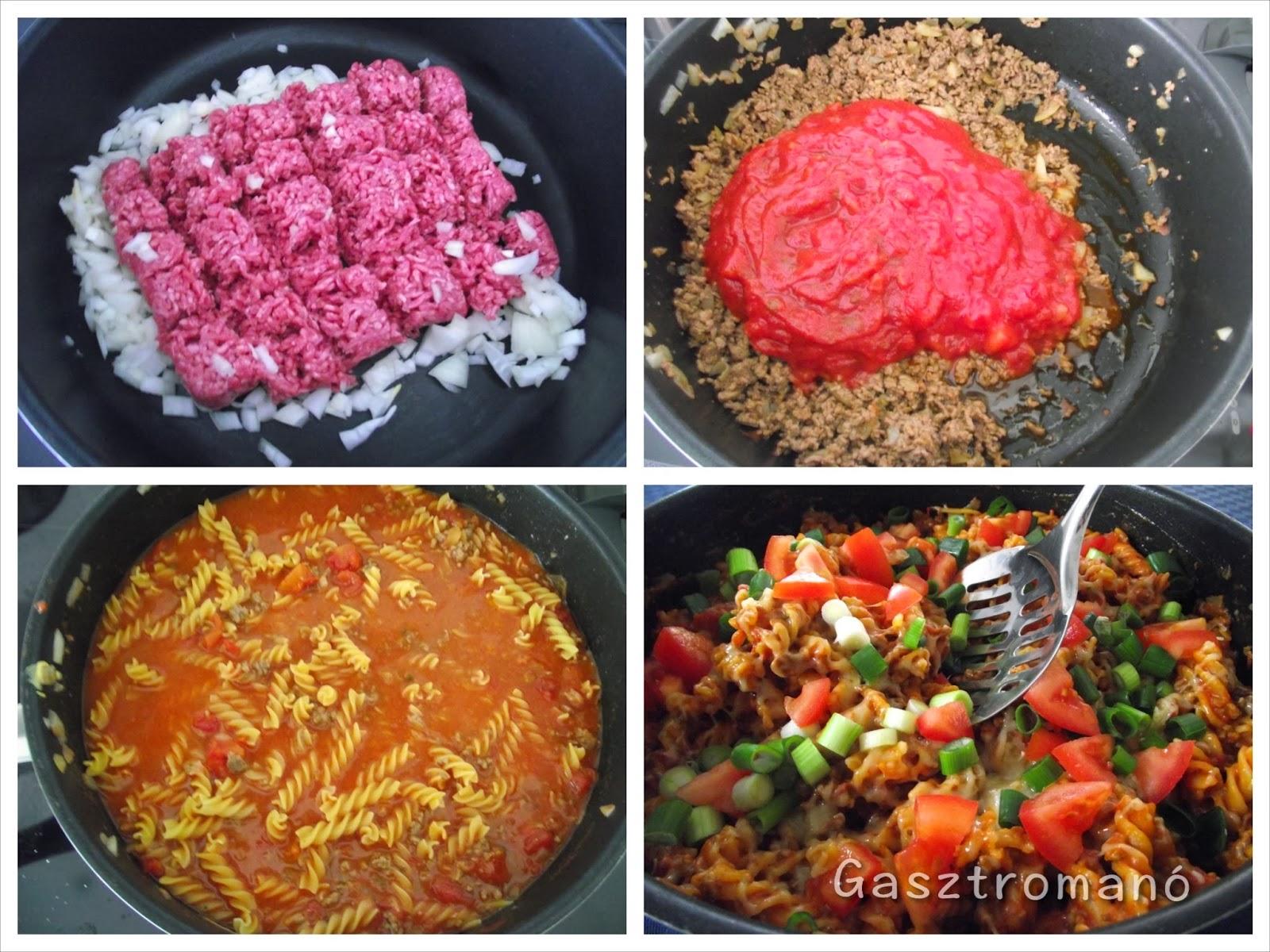 gyors tészta recept