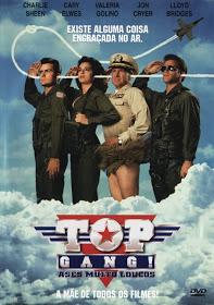 Filme Top Gang! Ases Muito Loucos Dublado AVI DVDRip