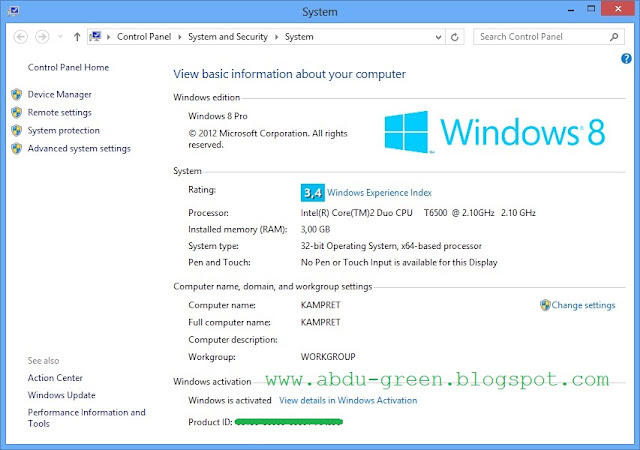 Download Activator Permanen Windows 8 All Version 100% Work