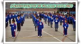 JURAMENTACION DE LOS POLICIAS ESCOLARES