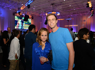 Sam Querrey with Girlfriend