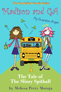 Children's book and angels