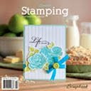 I was print published in Create: Stamping February 2013