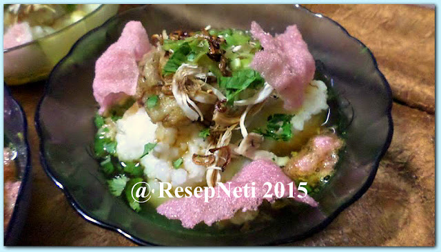 Simple chicken porridge recipe at kusNeti kitchen 2015