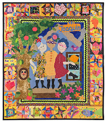 A wonderful story quilt by Mel