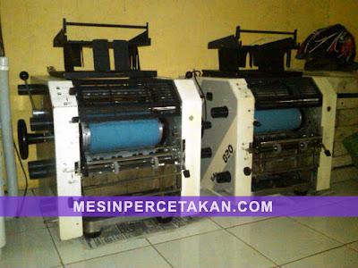 Toko 820 | Mesin cetak import Jepang | Year 1995 | Rekondisi