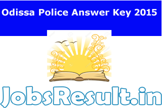 Odissa Police Answer Key 2015