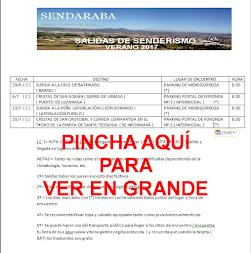 CALENDARIO VERANO 2017
