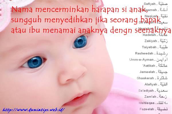 perasaan minder dan malu untuk memberi nama anaknya dengan nama islami