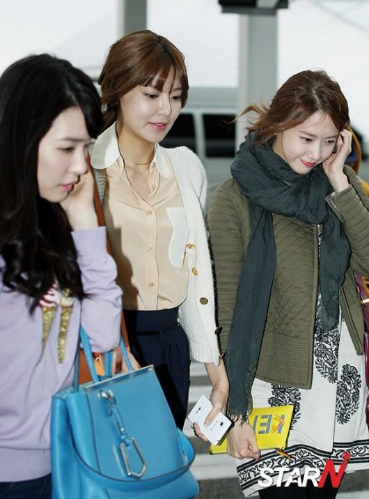 SNSD Di Bandara Incheon 10