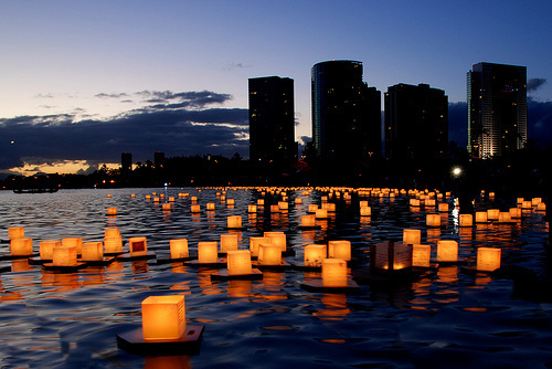 Floating Lanterns, Honolulu, Hawaii