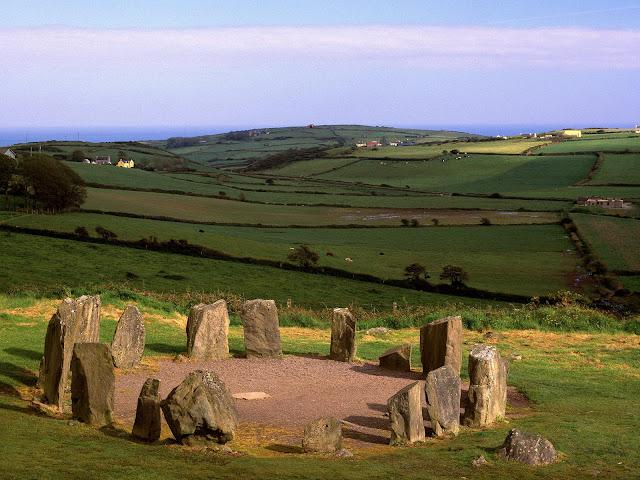 Drombeg Stone Circle, Irlanda