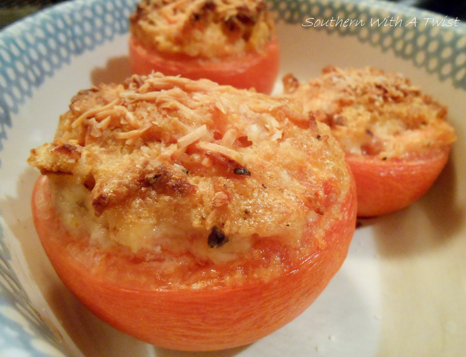 Southern With A Twist: Baked Tomatoes