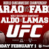 UFC169. Barao vs Faber 2. Official Fight Card. Video Promo.