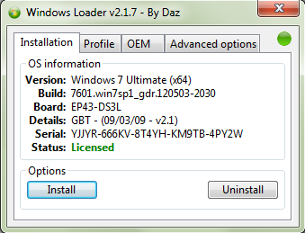 windows 7 loader 2.1.7(2012)