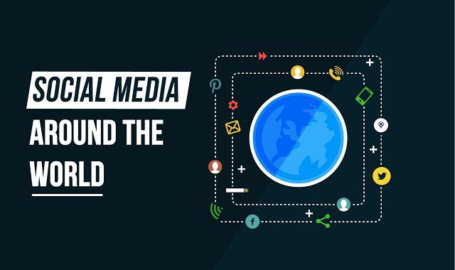 Image: Social Media Around the World