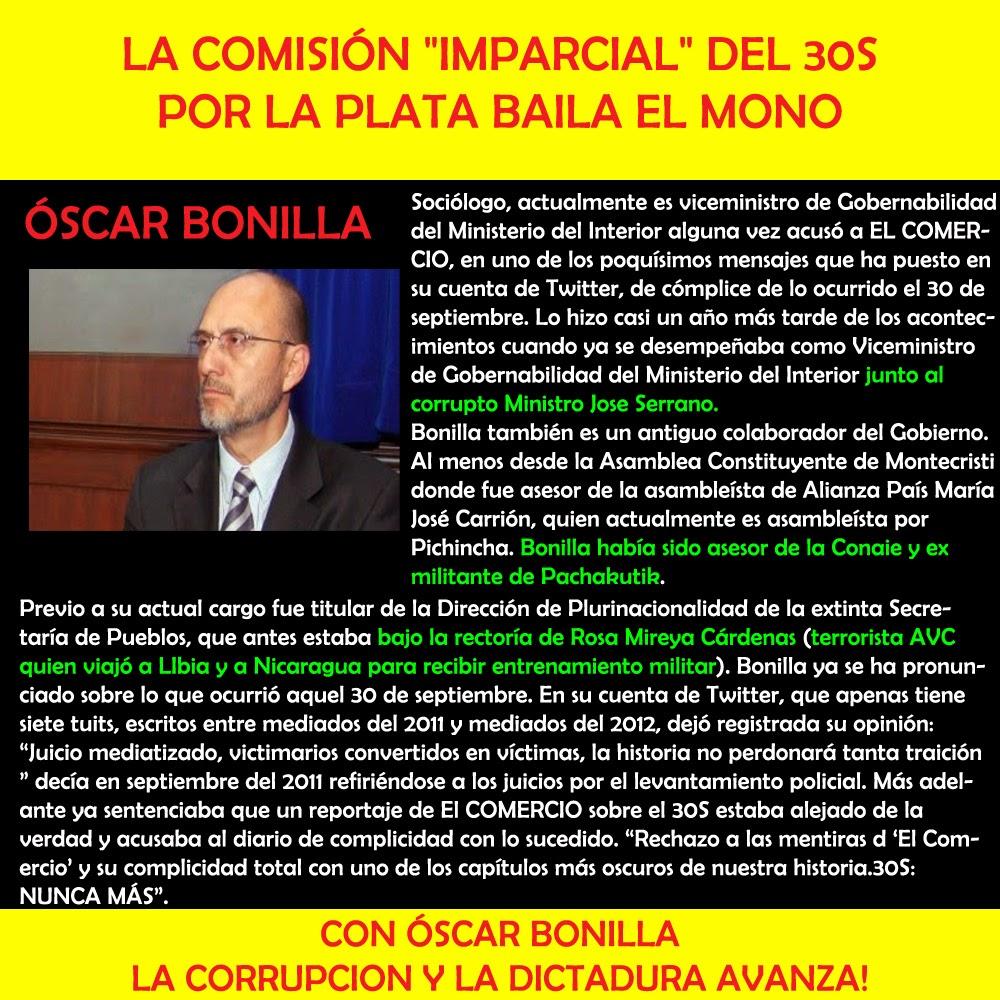 Óscar Bonilla  - Comisión 30s