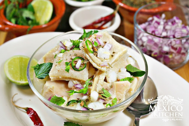 White Mexican Menudo Recipe
