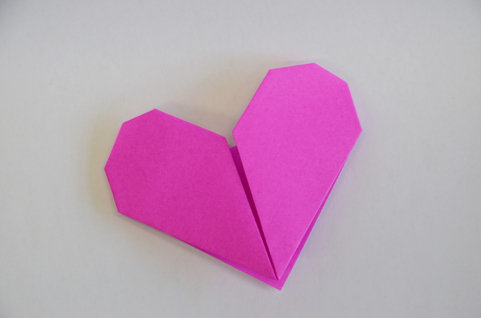 origa mania origami herz. Black Bedroom Furniture Sets. Home Design Ideas