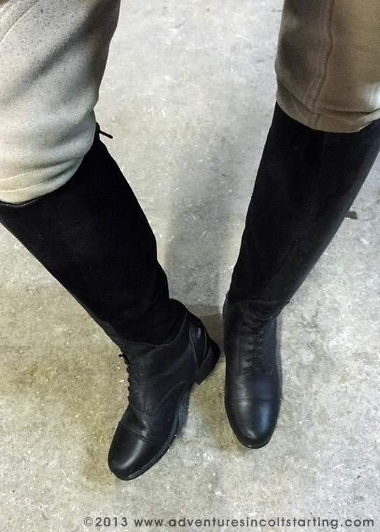 Adventures in Colt Starting: Product Review: Ariat Bromont Tall ...