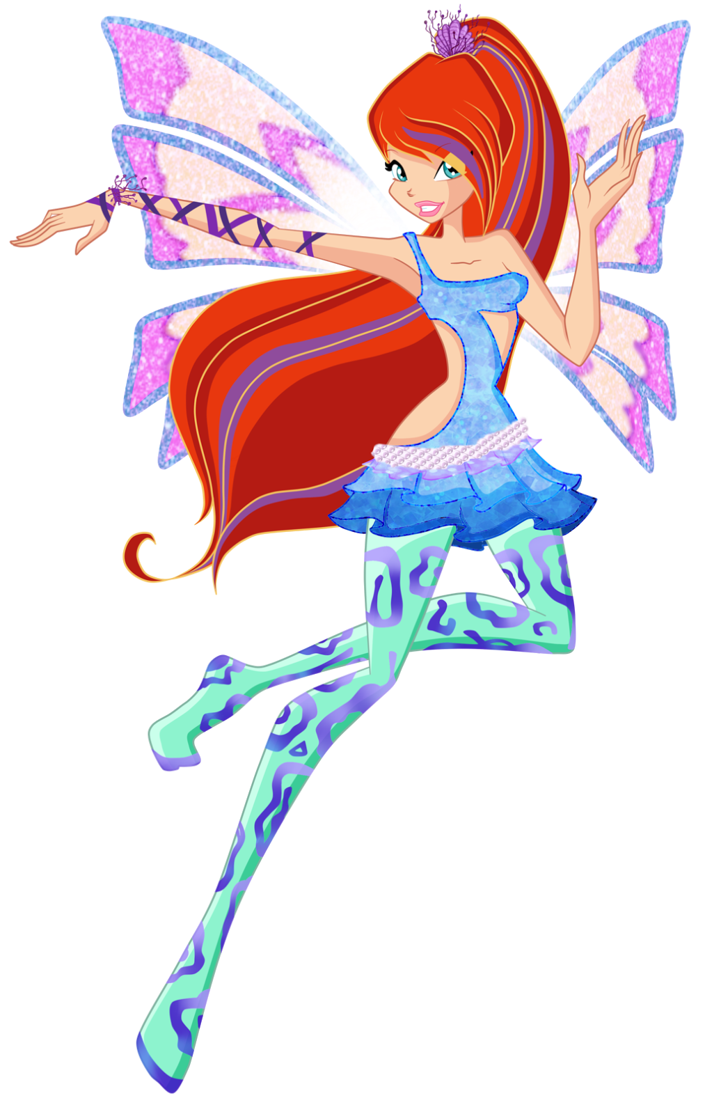 Felicity 39 s blog for Disegni winx sirenix da colorare