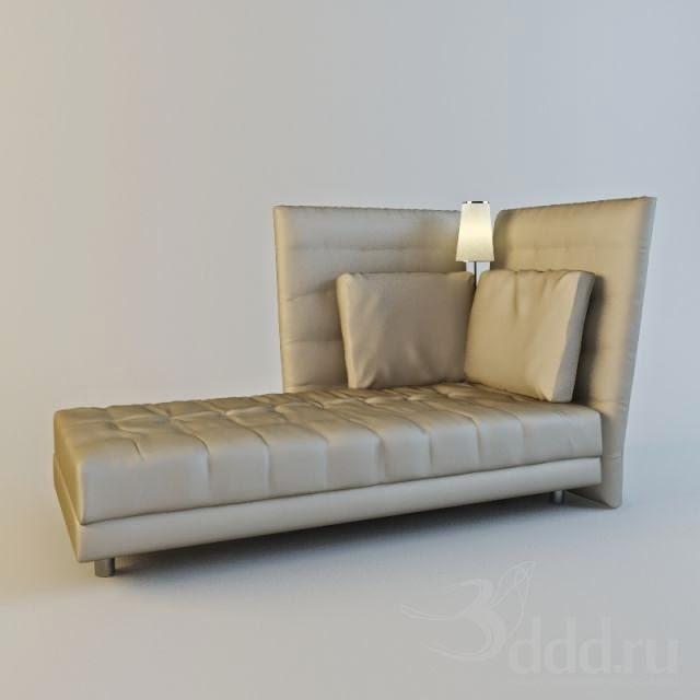 موديلات 3d لسرير النوم وأشكال مختلفة Fivetonine+Alto+Bed.