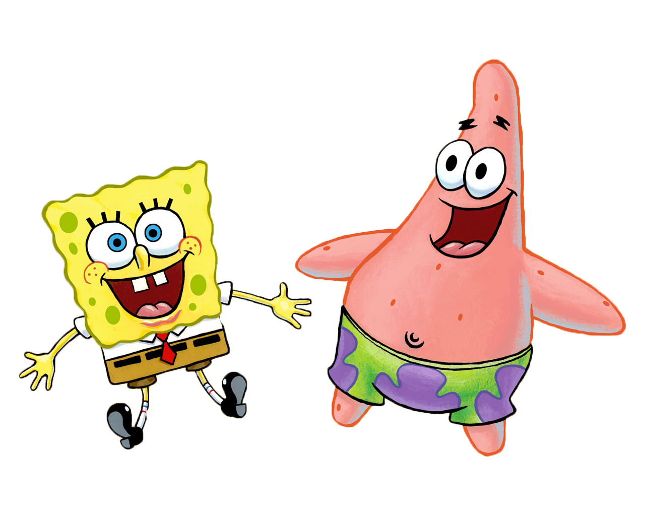 Cartoon 5 Characters : Cartoon characters bob esponja png