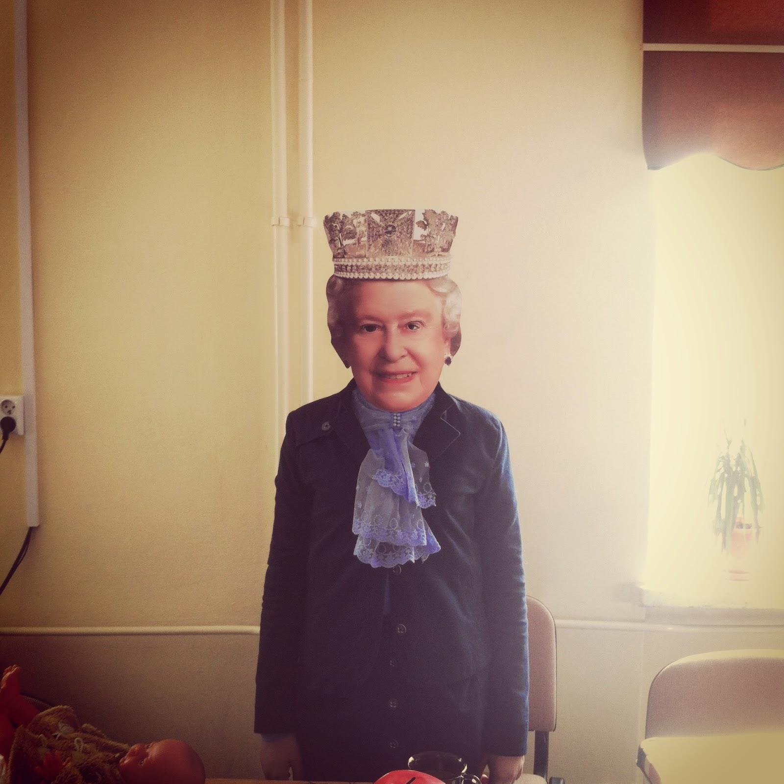 Elżbieta II w naszej szkole