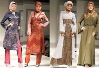 Kumpulan Model Aneka Busana Muslim Batik