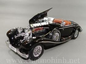 Xe mô hình tĩnh Mercedes-Benz 500 K TYP Specialroadster 1936 Black hiệu Maisto tỉ lệ 1:18