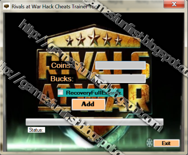 RIVALS AT WAR FIREFIGHT HACK TOOL CHEAT New Cracked