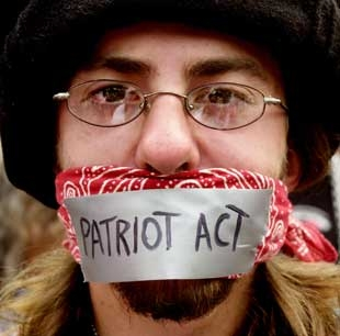 obama in europe signs patriot act extension when the news stops the nation itself is divided over the patriot act as reflected in a pew research center poll last before the killing of bin laden