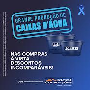 PROMOÇÃO DE CAIXAS D'ÁGUA