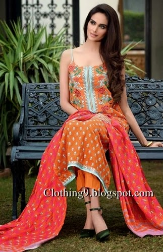 Premium Lawn Collection in Summer 2015