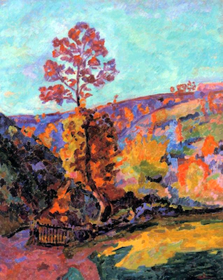 Paysage à Crozant