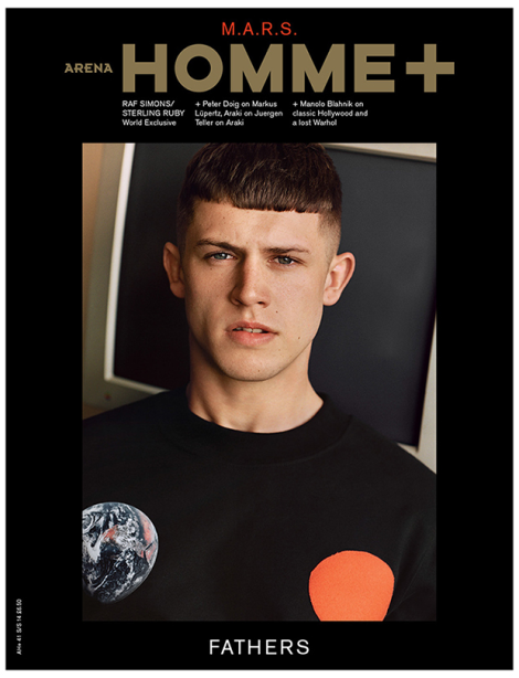 Danny Blake by Alasdair McLellan for Arena Homme Plus SS14