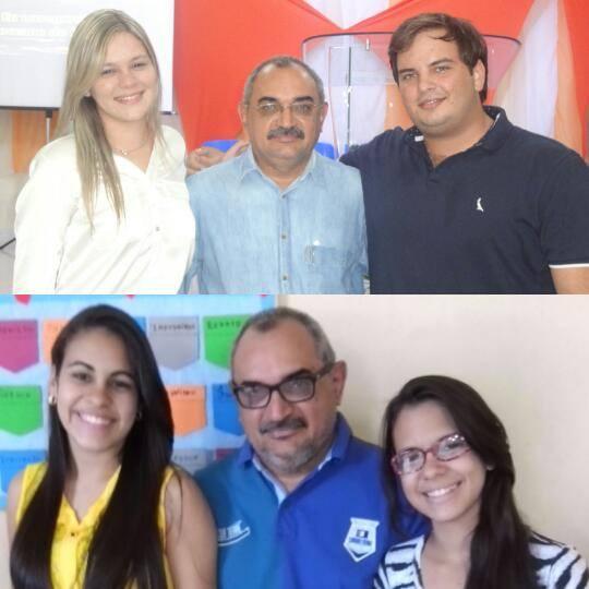 Lais Valentin e Adelson, Raylla Morgana e Ana Beatriz