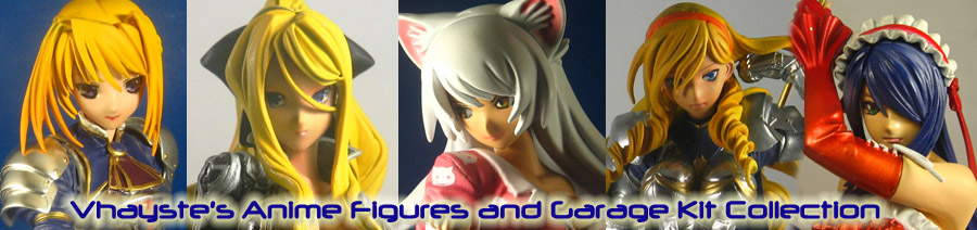 Vhayste's Anime Figure and Garage Kit Collection