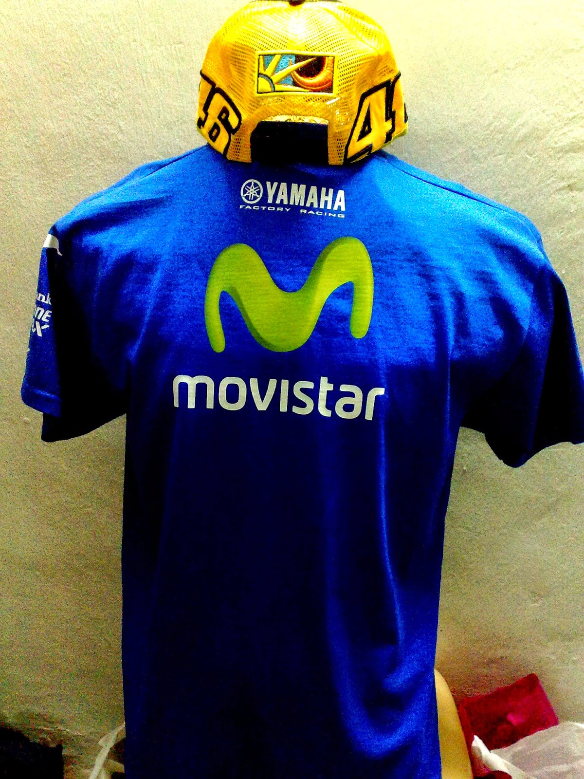 movistar yamaha t shirt 2014. Black Bedroom Furniture Sets. Home Design Ideas