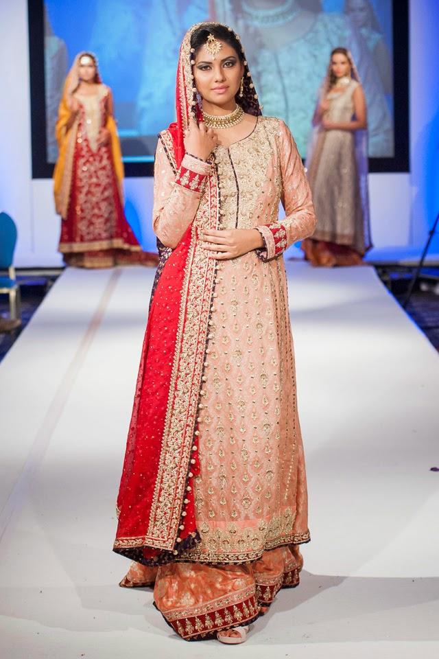 Sana Abbas At Pakistan Fashion Extravaganza London 2014 Fashion Feature